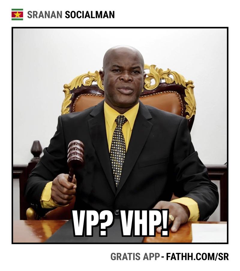 Sranan Socialman : VP of VHP