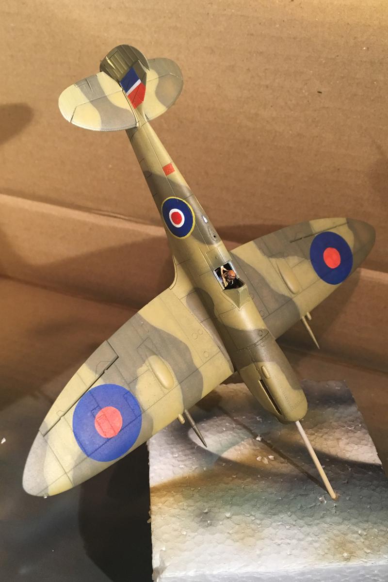 Spitfire Mk IX - Eduard 1:72 - Page 2 IMG-1622