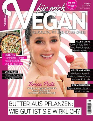 Cover: Vegan für mich Magazin No 06 Oktober 2021