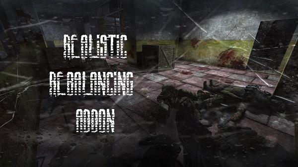 Realistic Rebalancing Addon / Реалистичный ребаланс для Anomaly
