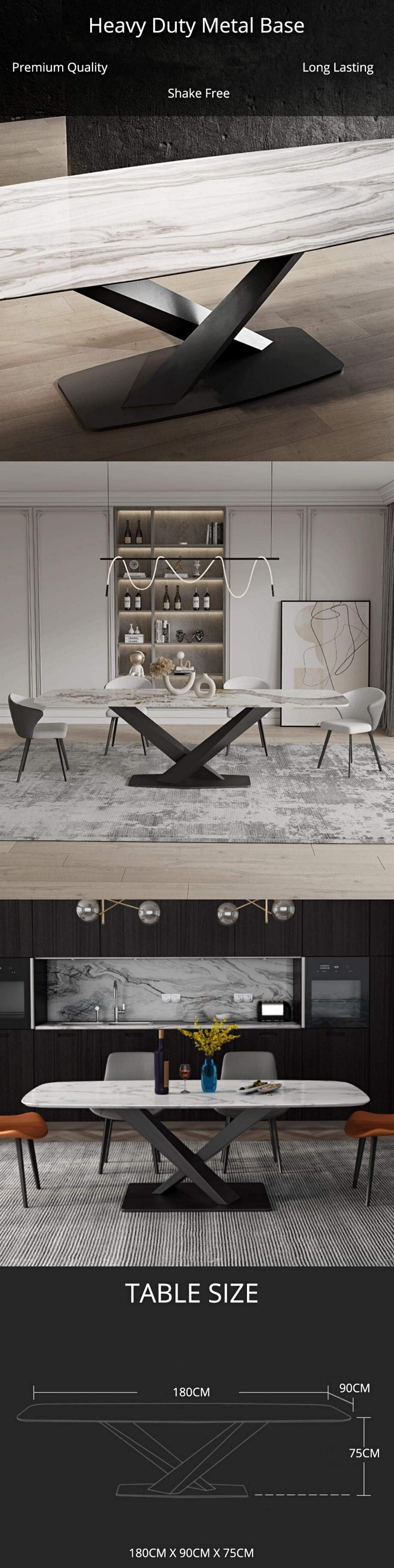 Rectangular-V-Base-Dining-Table-Item-Description-3