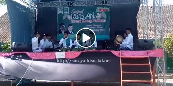 gambar screenshot video festival rebana tahun baru islam