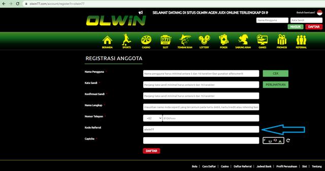 Petunjuk-REGISTER-Referral-OLWIN77