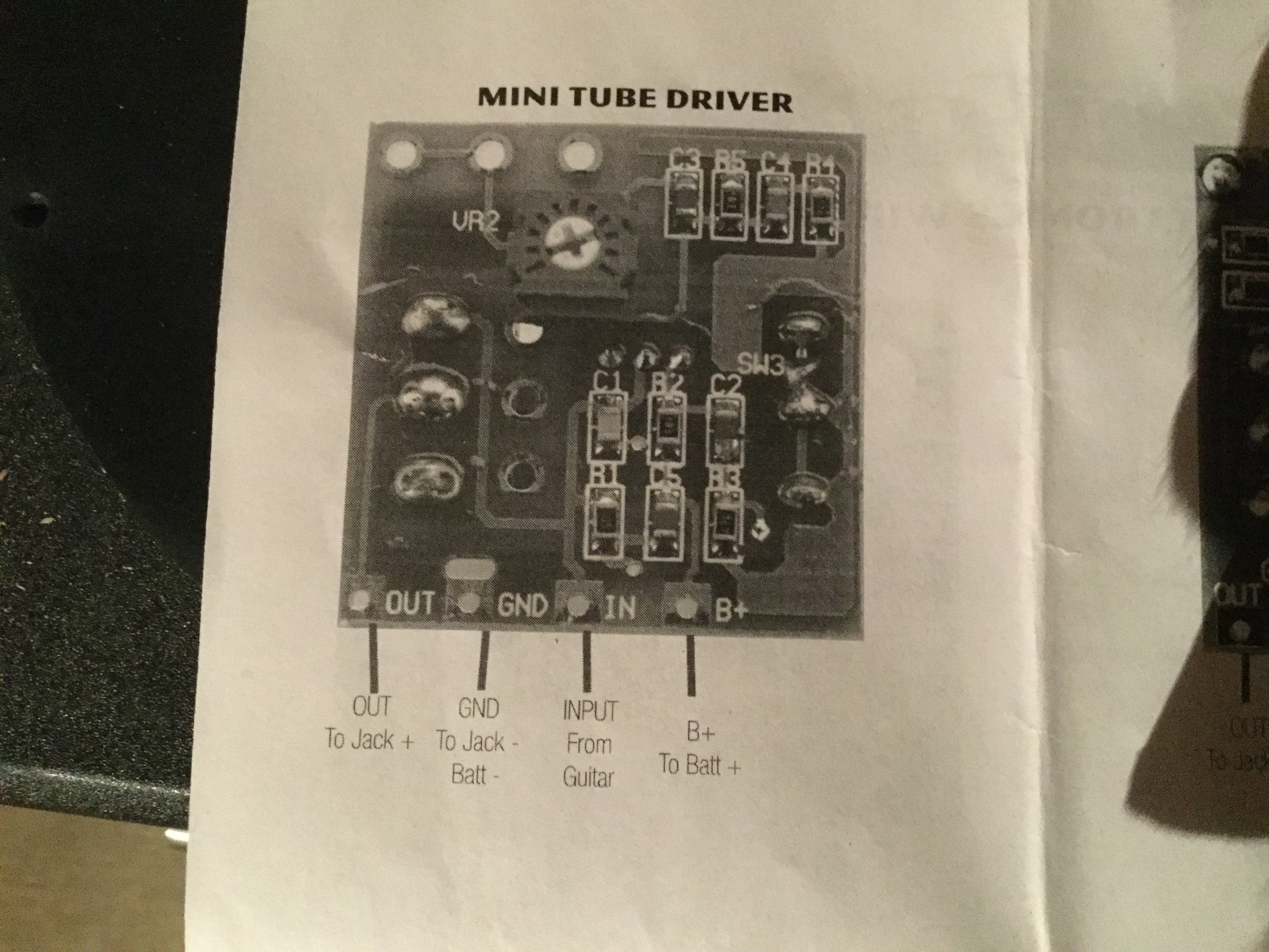Here S The Backpanel And Here S The Wiring Diagram
