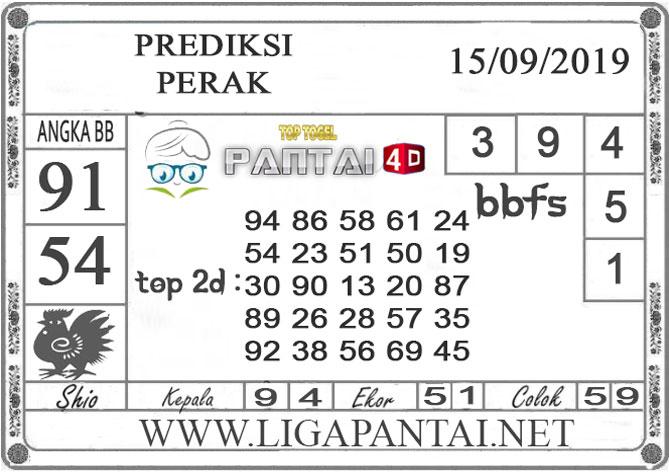 """PREDIKSI TOGEL """"PERAK"""" PANTAI4D 15 SEPTEMBER 2019"""