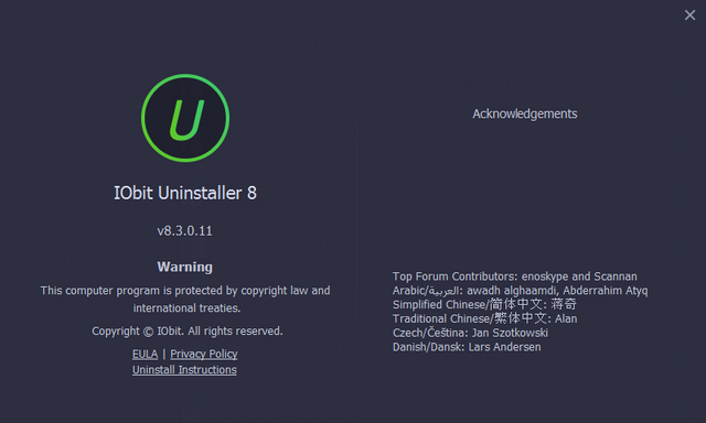 IObit Uninstaller Pro v8 3 0 14 Multilingual - Programs