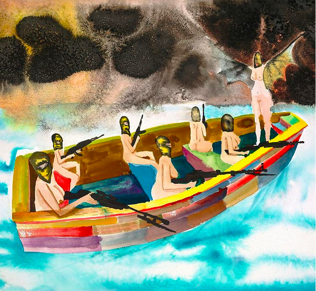 David-Choe-women-revolutionaries-on-boat.png