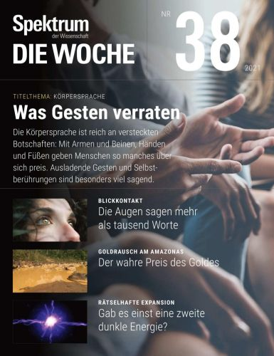 Cover: Spektrum Die Woche Magazin No 38 vom 23  September 2021