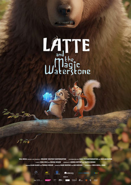 Latte & the Magic Waterstone (2019) English 720p WEB-DL 700MB Download