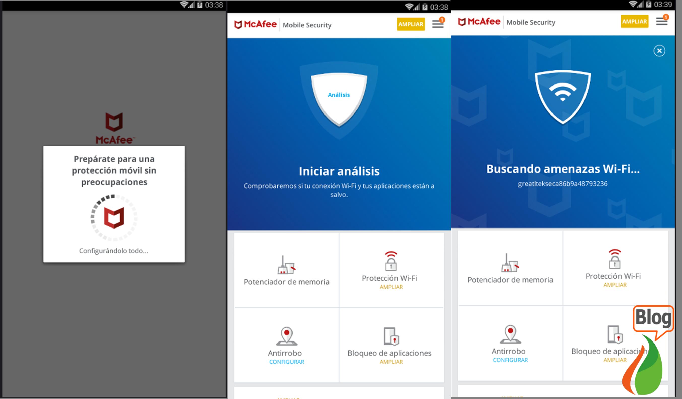 McAfee Mobile Security descargar Antivirus gratis para Android