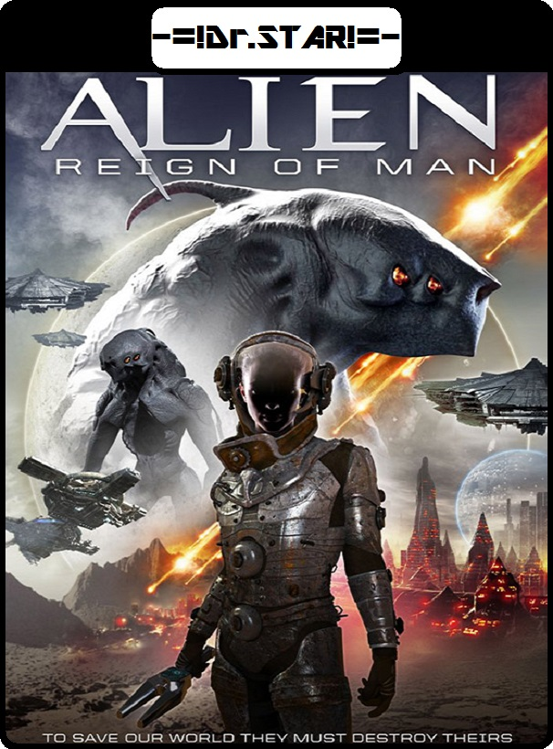 Alien Reign of Man (2017) Dual Audio Hindi 480p HDRip x264 AAC 300MB ESub