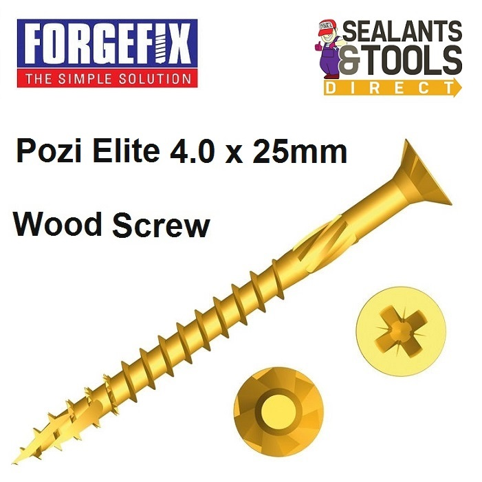 Forgefix-Pozi-Elite-Wood-Screws-4-0-25mm