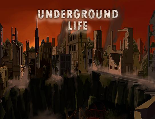 Underground Life - RPG y Supervivencia - Versión Alfa disponible! Portada