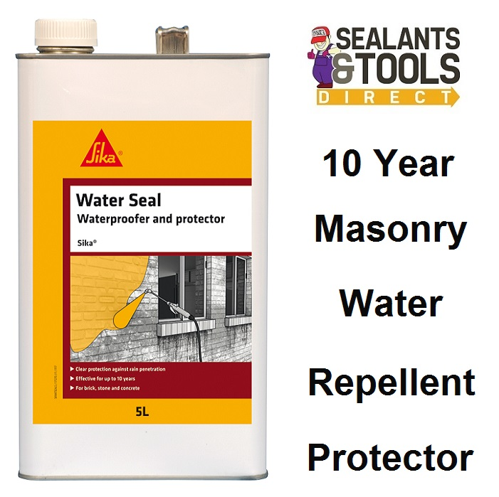 Sika Water Seal Solvent Repellent & Protector 5 Litre SKWATSEAL5