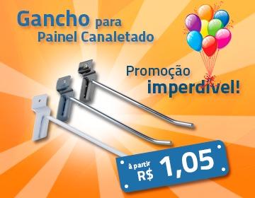 Promoção Gancho Painel Canaletado