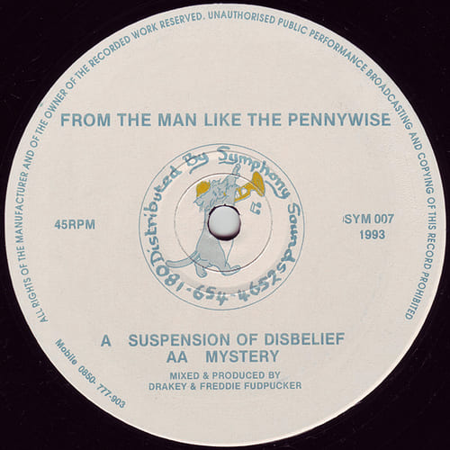 Download From The Man Like The Pennywise - Suspension Of Disbelief / Mystery mp3