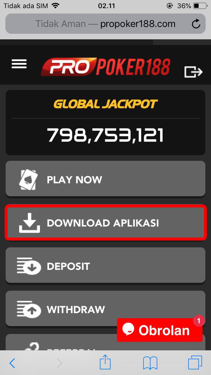 Download aplikasi poker idn ios