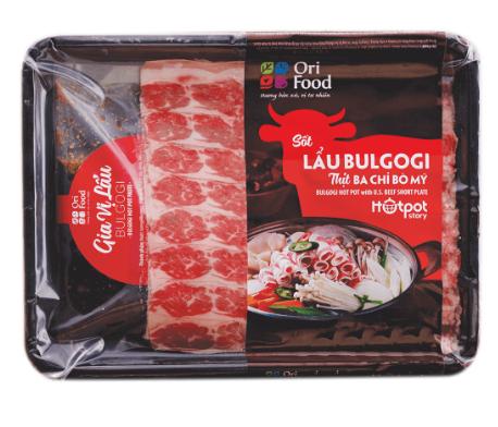 Hotpot Story- Lẩu Bulgogi Ba Chỉ Bò Mỹ- 770gr- Ori Food