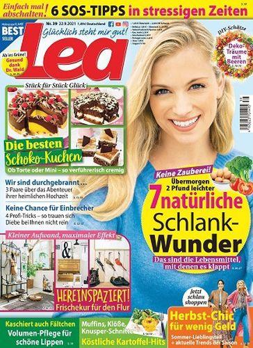 Cover: Lea Frauenmagazin No 39 vom 22  September 2021