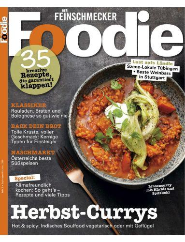 Cover: Foodie Magazin No 03 September-Oktober 2021