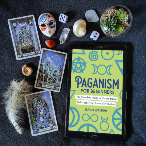 An image of Paganism for Beginners in digital format.