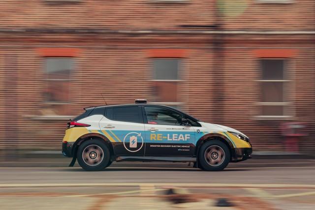 Nissan RE-LEAF : De L'énergie Au Service Des Secours  Nissan-RE-LEAF-13-source
