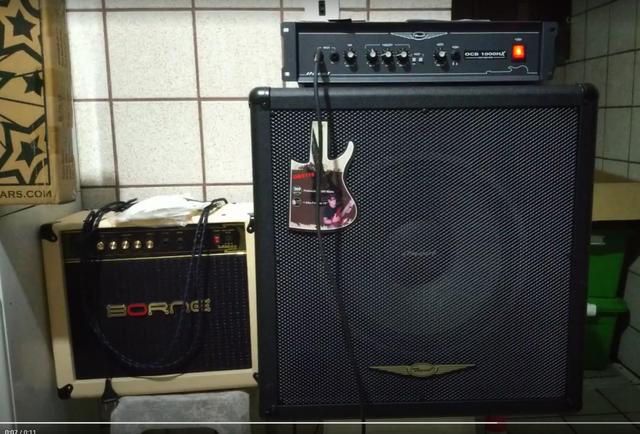 Amplificador Borne, Oneal ou outro? Capturar