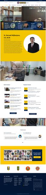 FEB UHAMKA Website