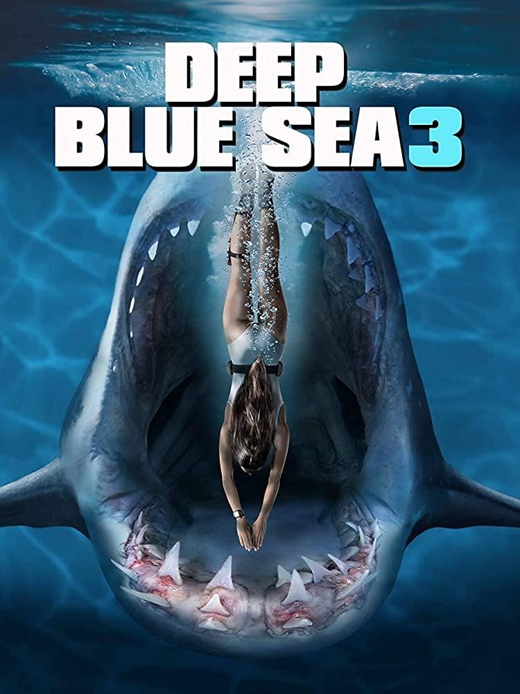 Deep Blue Sea 3 (2020) English Movie 480p HDRip 300MB Download