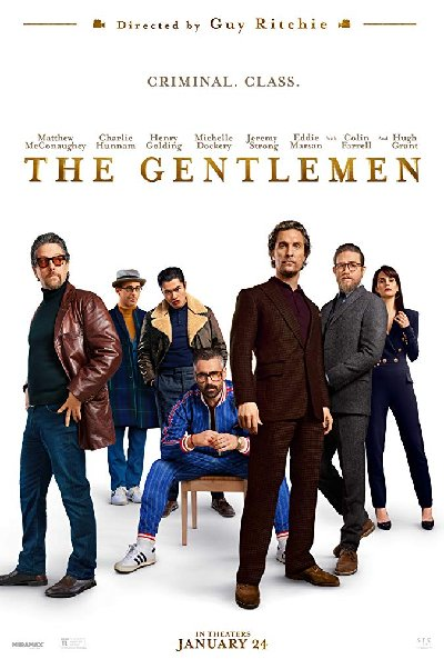 The Gentlemen 2020 English HDRip 720p x264 900MB ESub DL