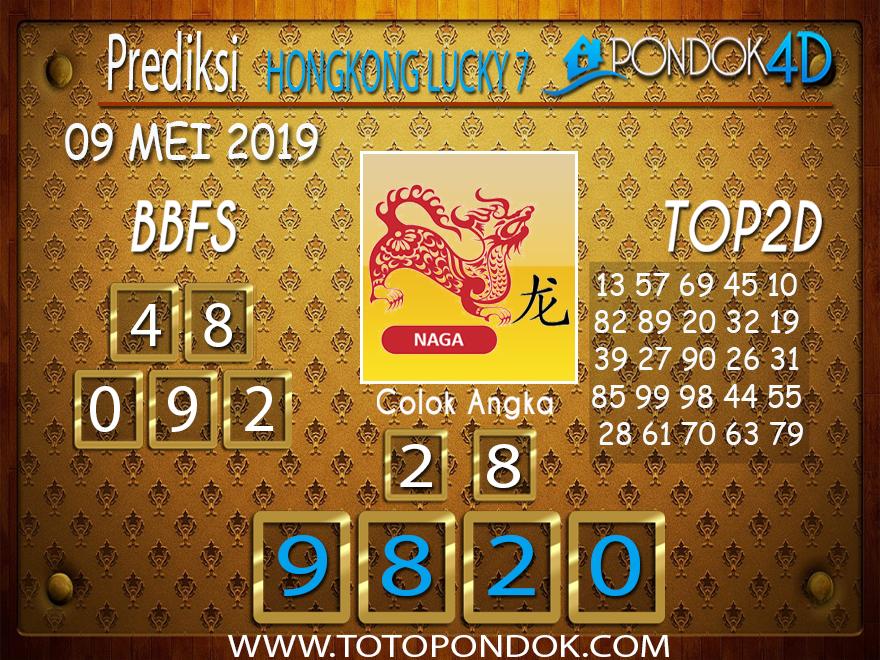 Prediksi Togel HONGKONG LUCKY 7 PONDOK4D 09 MEI 2019