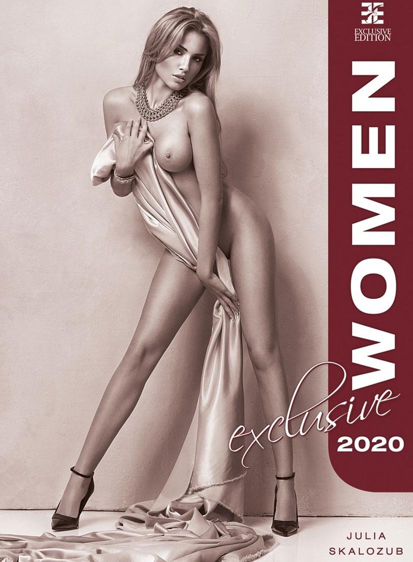 Сексуальные голые девушки в календаре на 2020 год, фотограф Юлия Скалозуб / обложка