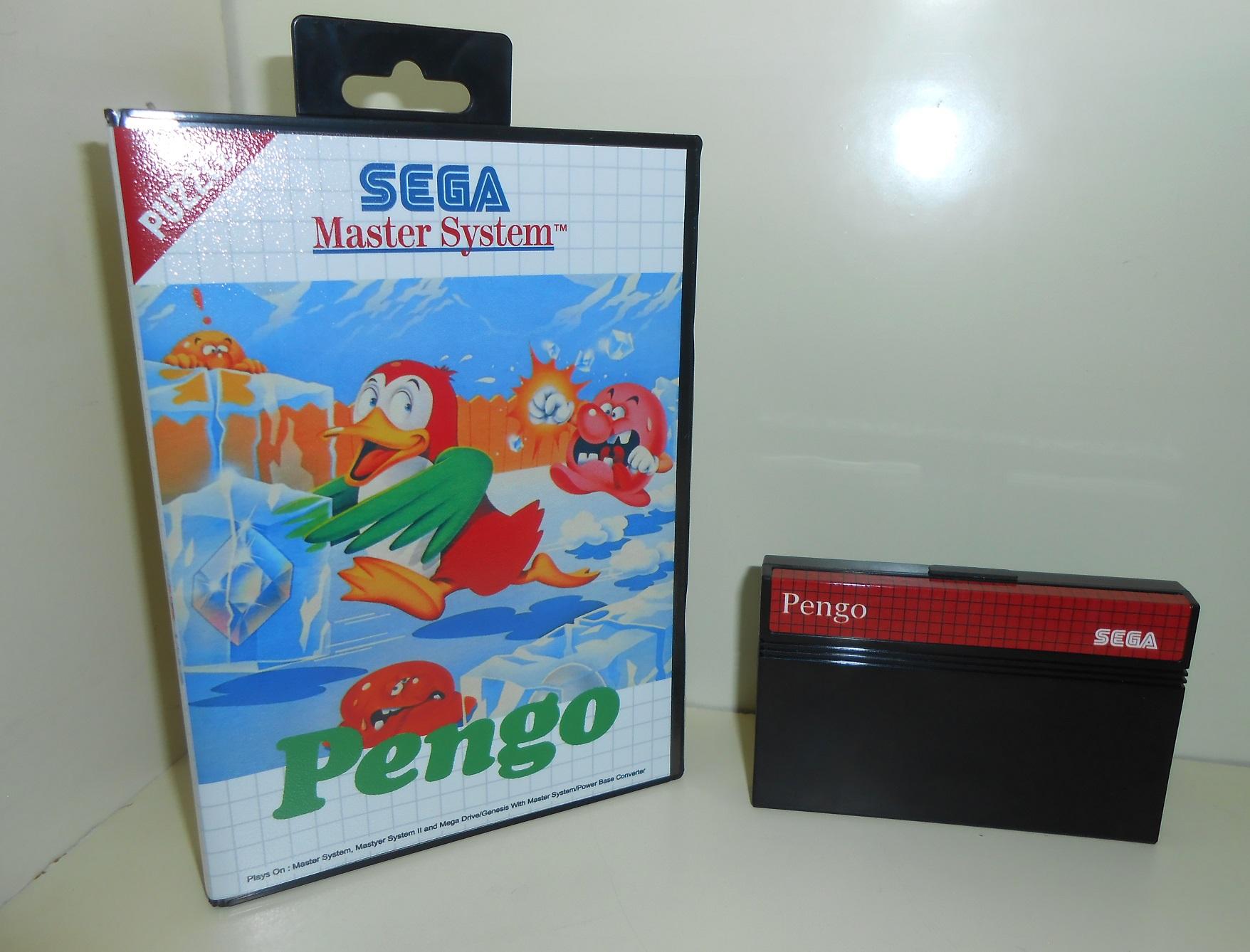 Pengo Master System pour 99 Francs fdp in!  DSCN1765