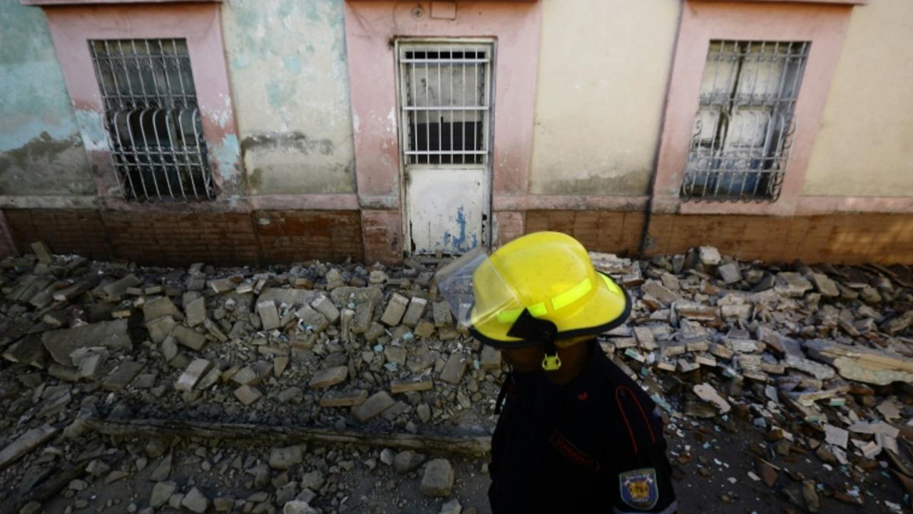 Temblor seguido por una treintena de réplicas se sintió en gran parte de Venezuela