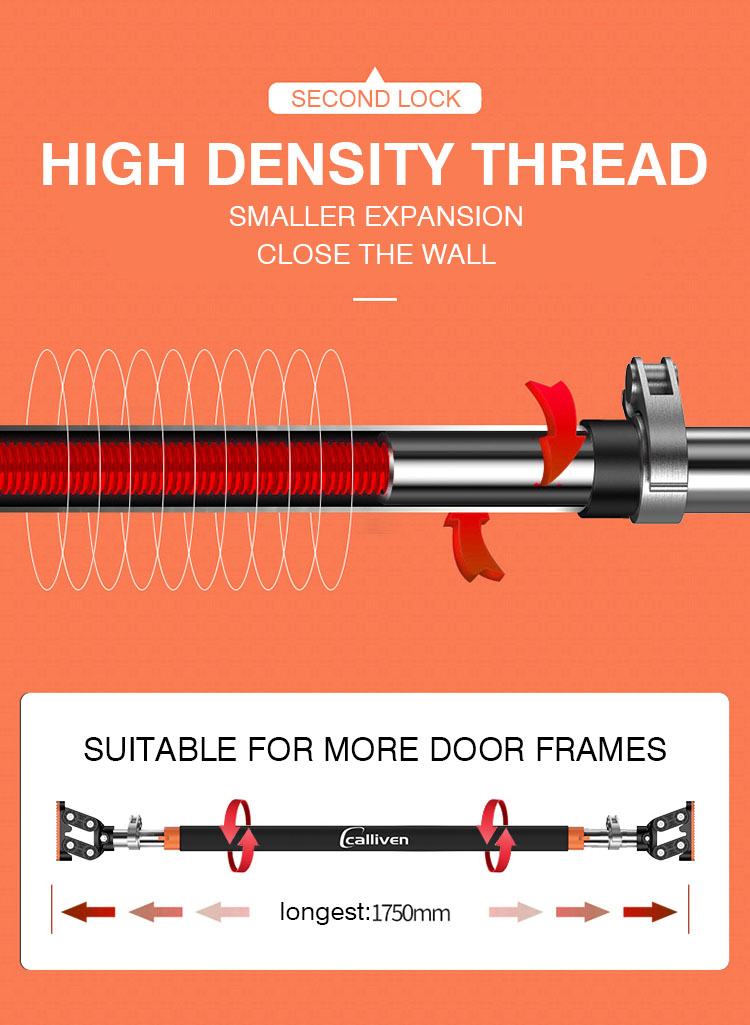 Door frame horizontal bar