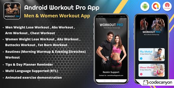 Women Workout App