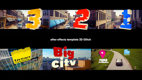 3D Titles - 3D Glitch 31994178 - Project for After Effects (Videohive)