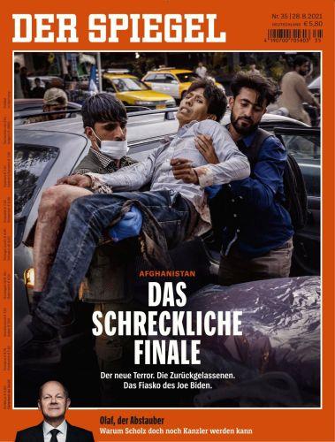 Cover: Der Spiegel Nachrichtenmagazin No 35 vom 28 August 2021