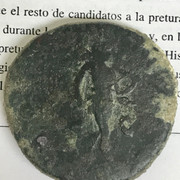 Sestercio de Marco Aurelio. COS III - S C. Marte avanzando a dcha. Roma. ADB06-D20-B2-CF-4-F1-B-8-CCA-57931-D115-A22