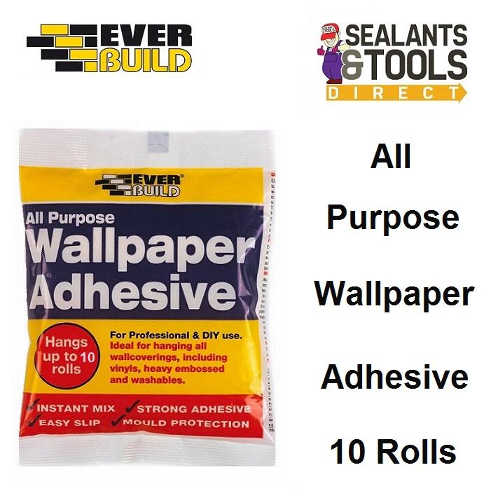 Everbuild Wallpaper Adhesive Paste 10 Rolls PASTE10