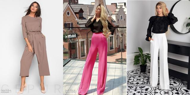 жіночі широкі брюки фото