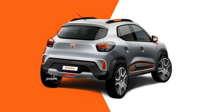 Nouvelle Dacia Spring Electric : La Révolution Électrique De Dacia 2020-Dacia-SPRING-Gense-Design-1