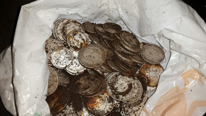 Treasure of silver coins