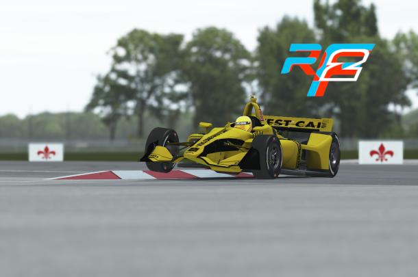 VRC Indycar 2020 - Test round - NOLA