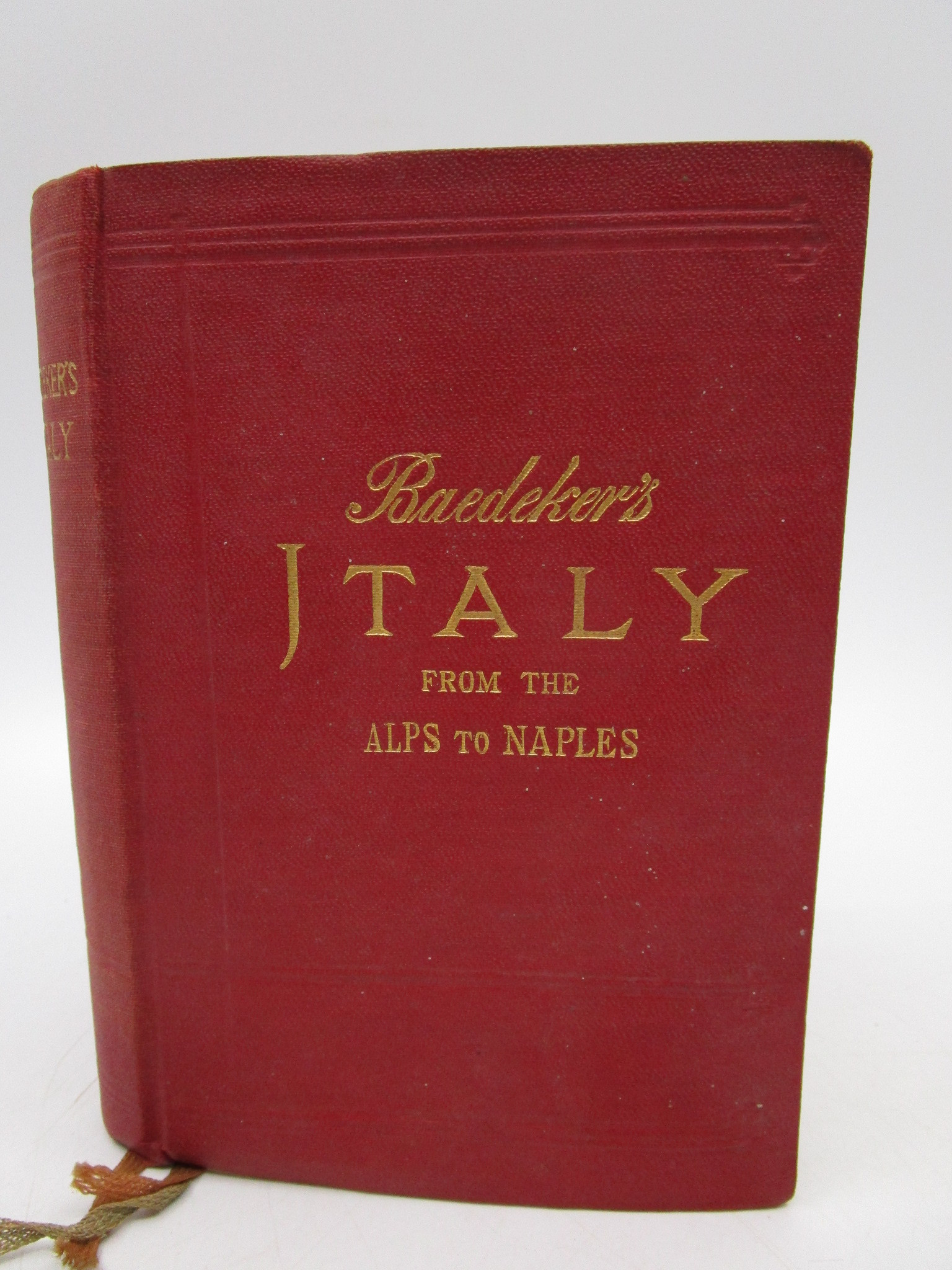 Image for Italy: from the Alps to Naples: Handbook for Travellers
