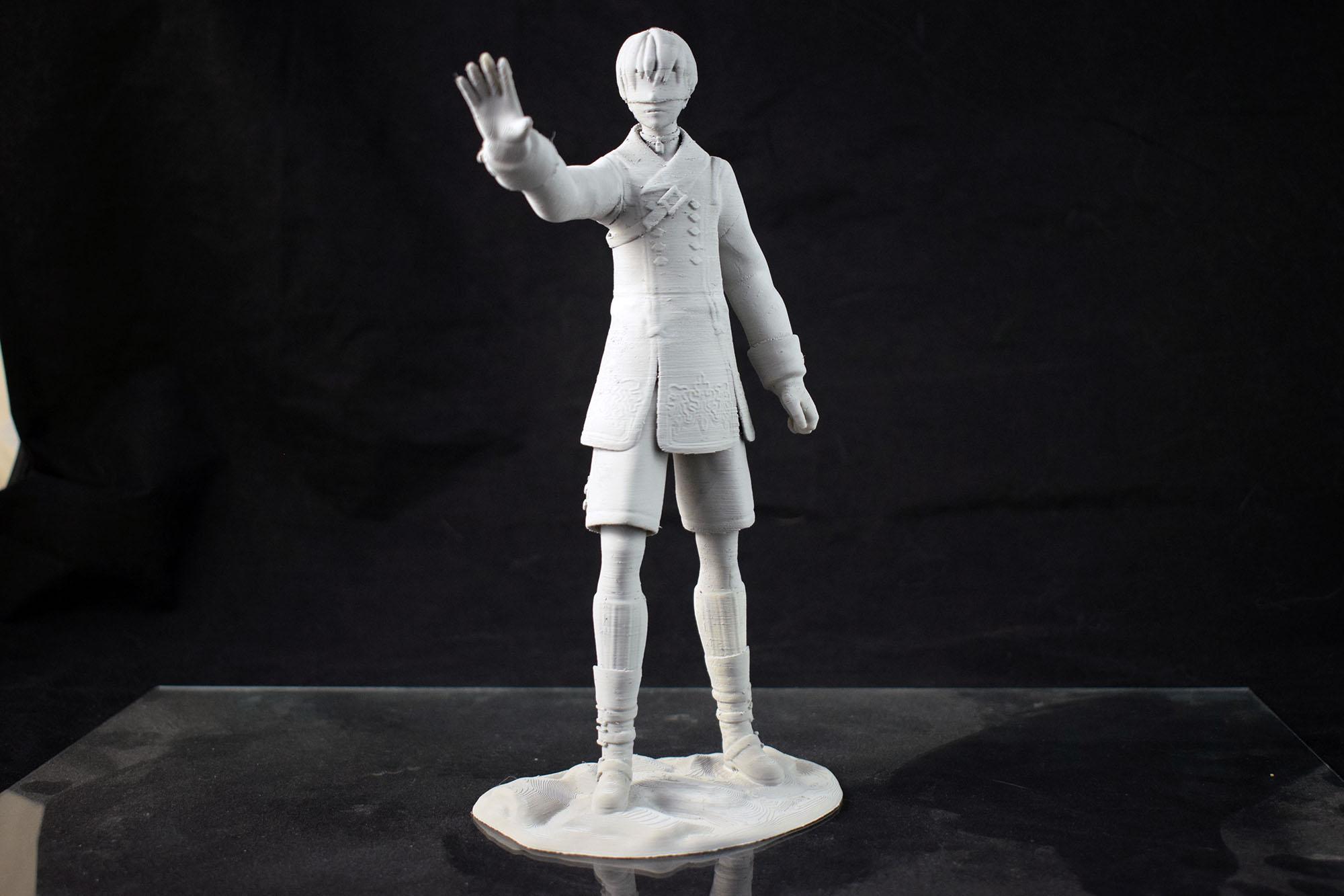 Nier Automata 9S 3D Print Model From Tanya Wiesner