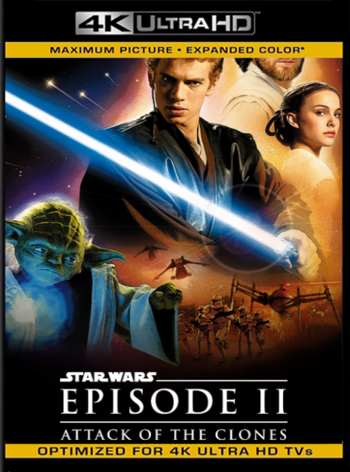 Star Wars: Episodio 2: El Ataque de los Clones (2002) REMASTERED BDRip [2160p 4K] Latino [GoogleDrive] [zgnrips]