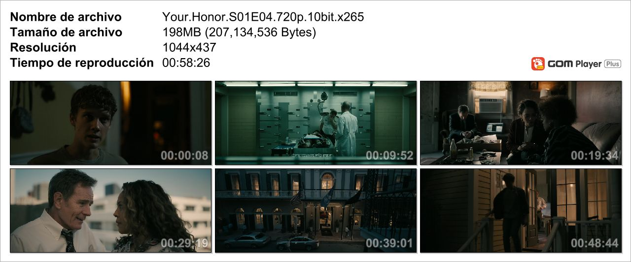 Your Honor|1-5/10|Miniserie|720p|10Bits|H265|MF