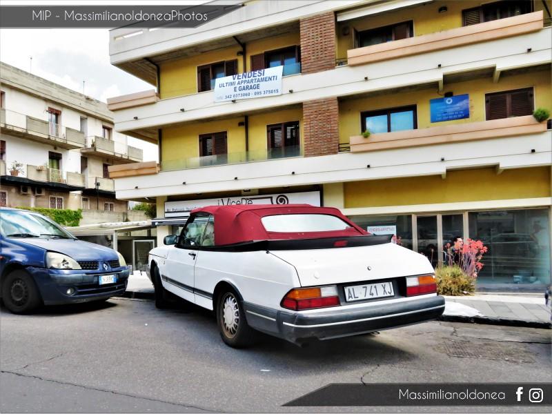 avvistamenti auto storiche - Pagina 16 Saab-900-Cabriolet-2-0-141cv-92-AL741-XJ