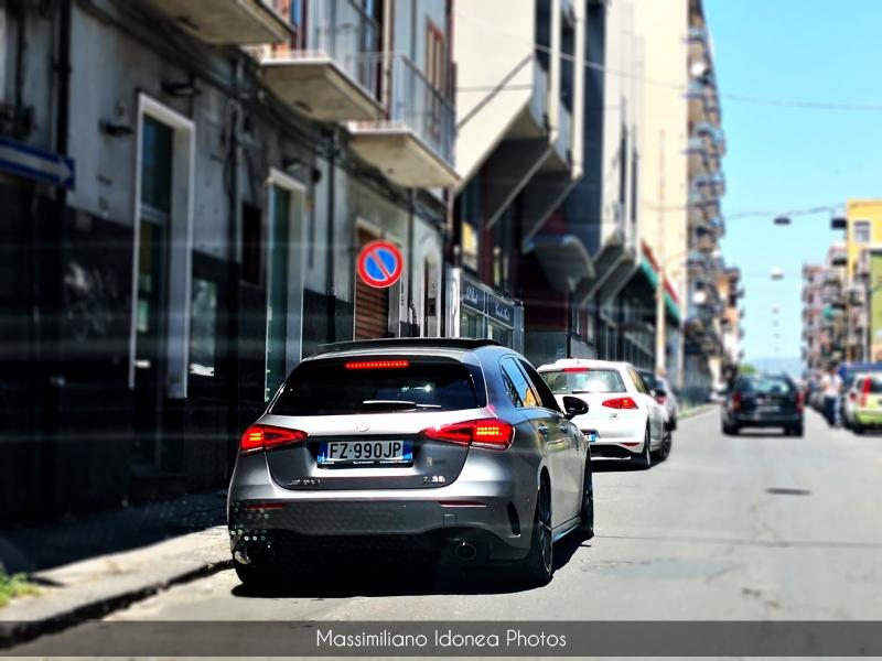 Avvistamenti auto rare non ancora d'epoca - Pagina 28 Mercedes-W177-A35-AMG-2-0-306cv-20-FZ990-JP